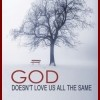 God Doesn't Love Us All The Same, by Nina Guilbeau