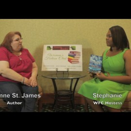 WFC Author Interview w/ Lynne St. James