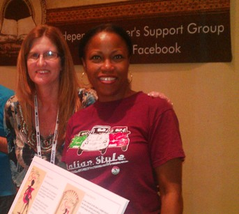 Authors Nina Guilbeau and Lynda Haviland