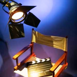 Empty-Director-Chair